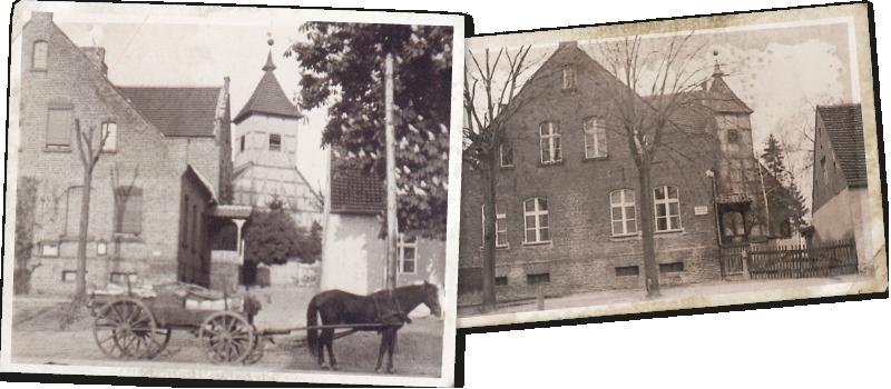 Historische Fotos Alte Schule Bergholz